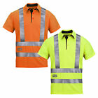 Snickers Hi Vis A.V.S. Polo Shirt Class 2/3 (Breathable) UK SUPPLIER-2743