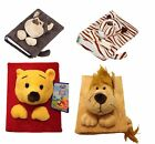 Children's Soft Toy PHOTO ALBUM, For Baby & Family memories wild jungle animals