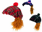 See You Jimmy Hat, Scottish Novelty Fancy Dress, Various Tartans available