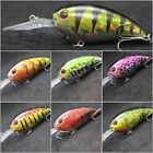 wLure 4 inch Deep Diver Crankbait Fishing Lures For Bass 2X Strong Hooks C55