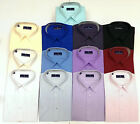 Men's Rael Brook Short Sleeve Shirt 13 Colours Work Formal Business Casual BNWT