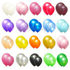 "New 12"" LATEX PEARLISED BALLOONS PARTY WEDDING BIRTHDAY SUPPLIES DECOR FAVOR"