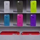 For Apple iPhone 5 5G 5S 6th 0.5mm Ultra Thin Matte Back Hard Case Cover Skin