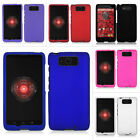 For Motorola Droid Maxx XT-1080M 2013 Rubberized Hard Case Snap On Cover Phone