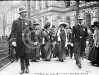 1908 SUFFRAGETTES NYPD POLICE NEW YORK SUFFRAGE PHOTO