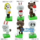 JAPAN TOMY A.R.T.S. LINE APP CHARACTERS FIGURE -MOON/CONY/BROWN