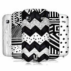 HEAD CASE DESIGNS BLACK AND WHITE DOODLE PATTERNS CASE FOR GALAXY GIO S5660