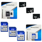8GB/16GB CLASS 6 MICRO SD SDHC MEMORY CARD + ADAPTER FOR MOBILE PHONE TABLET PC