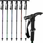"Collapsible Illuminated Walking Hiking Camping Stick 58"" Assorted Colors"