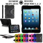 iPad Mini 2 Tough Military Hard Rugged HEAVY DUTY Shock Protective Survival Case