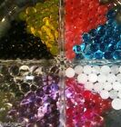 10 packs (approx 25 grams!) of Crystal Aqua Water Beads - 10 colour choices