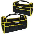 "HEAVY DUTY 16"" 19"" MULTI-PURPOSE DIY TOOL STORAGE BAG CASE HOLDALL STRAP POCKET"