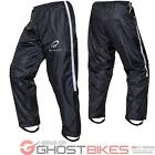 Black Spectre Waterproof Motorcycle Motorbike Rain Wear Bike Trousers Ghostbikes