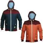 Soul Star Mens Axbridge Designer Hooded Two Tone Jacket Coat Clearance Sale