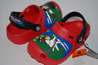 NWT CROCS DISNEY MICKEY MOUSE ADVENTURE 6/7 8/9 10/11 12/13 1 2 3 RED shoes