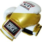 DUO GEAR 'WHITE 'METALLICA' BOXING SPARRING PADWORK MMA KICKBOXING TRAIN GLOVES