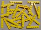 x25 NEW Lego Yellow Baseplates 1x6 Brick Building Plates