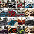 New Modern Floral Cheap Rugs Rug Modern Design Home Runner Soft Small Ex Large