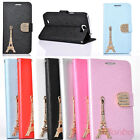 Tower Flip Wallet Stand PU Leather Case Cover For Samsung Galaxy Note 2 II N7100
