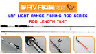 SAVAGE GEAR LRF LIGHT RANGE FISHING ROD SERIES LURE SPINNING PIKE PERCH SEA BASS