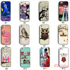 New Cute Animal Design Hard Plastic Back Case Cover Skin For iPhone 5 5G 5S