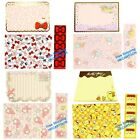 JAPAN HELLO KITTY LITTLE TWINS STAR POM POM PURIN LETTER PAPER & MESSAGE CARD