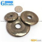 G-Beads Fashion 30mm 40mm 50mm ring silver gray pryite for pendant 1 pcs