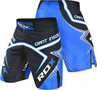 RDX MMA Shorts Grappling UFC Kick Boxing Mens Muay Thai Cage Fight Trunks R7U