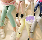 KIDS GIRLS BABIES LOVELY BIRD PRINT FASHION LEGGING SIZE 2-9YEARS