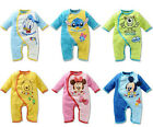 New Cute Baby Rompers Kids One-piece Jumpsuits Romper Baby Clothing Set Disney