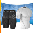 New Mens Compression Under Base Layer Armour Wear Core Shirt Pant POIDR04WSS07BB