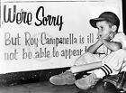 1957 Worst Day Ever Brooklyn Dodgers ittle Boy Baseball Photo