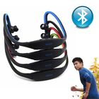 For Samsung iPhone Sports Wireless Stereo Bluetooth Headset Earphone Headphone