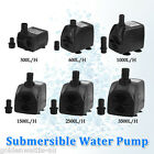 600L 1000L 1500L 2500L 3500L Aquarium Fountain Spout Pool Submersible Water Pump