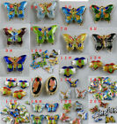 20pcs Cloisonne Enamel Butterfly Spacers/Charms O74