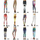 Fashion Pretty Colorful Women Sexy High Waisted Stretchy Leggings Pants
