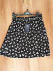 """NEW WITH TAGS MARKS & SPENCER BLACK MIX SKIRT & BELT 18"""""""