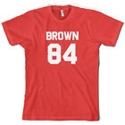 Brown 84 - Mens T-Shirt - Drew - Republic - 10 Colours - S-XXL