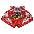 DUOGEAR KB RED MUAY THAI BOXING FIGHTER TRUNKS