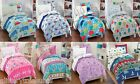 KIDS BOYS GIRLS 5 PIECE BED IN A BAG COMFORTER SET MULTIPLE THEMES