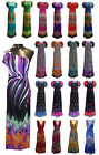 Womens Ladies Multi Coloured Floral Paisley Peacock Print Maxi Party Dress 8-24