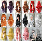 Hot Sell! 80CM Long Nine Colors New Fashion Long Curly & Wavy Cosplay Wig