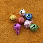 50 100 200 pcs Scrub Assorted Color 8mm Jingle Bell Charms craft Mixed A70Mx
