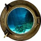 Huge 3D Porthole Under The Sea View Wall Stickers Film Mural Art Decal Wallpaper