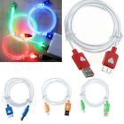 LED Micro USB Data Sync Charger Cords Cable for Samsung Galaxy Note 3 III N9006