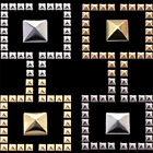 100 x Pyramid, Punk, Rock, Leather Bag Shoe Studs CRAFT Biker Fashion Goth