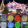 New Outdoor LED Solar Powered Fairy String Lights Garden Christmas Wedding Party