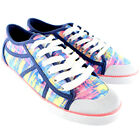 Womens Rocket Dog Rainbow Dye Amaya Ox Lace Up Low Top Casual Trainers UK 3-8