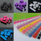 """Silicone Dust Plug & Keyboard Skin Cover Protector For Macbook Pro 13 15 17"""""""