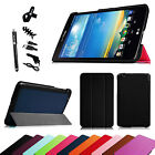 "For LG G Pad 8.3"" Wifi V500 V510 & Verizon VK810 Slim Case Smart Cover + Bundles"